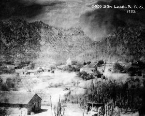 This is Cabo San Lucas in 1952