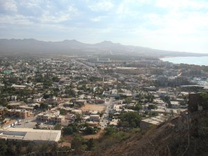 This is Cabo San Lucas in 2009